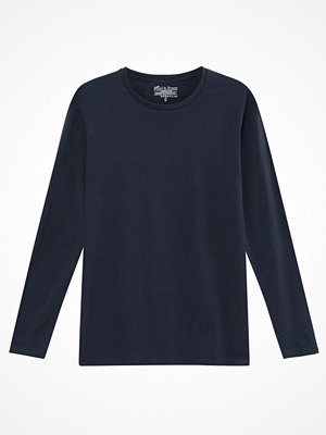 Bread and Boxers Long Sleeve Crew Neck Grey