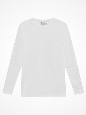 Bread and Boxers Long Sleeve Crew Neck White
