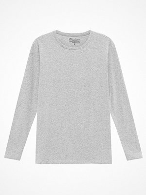 Bread and Boxers Long Sleeve Crew Neck Navy-2