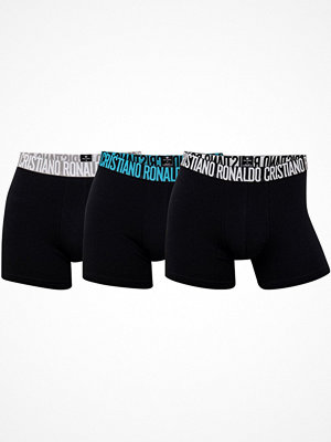 CR7 Cristiano Ronaldo 3-pack Men Trunks Black/Blue
