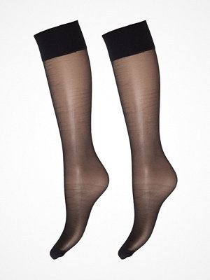Strumpbyxor - Decoy 2-pack Deocy Silk Look 20d Kneehighs Black