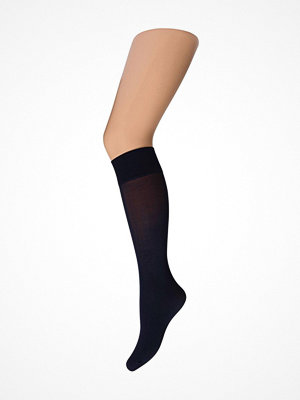 Strumpbyxor - Decoy Knee-highs Microfibre 60 den Navy-2