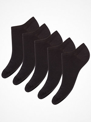 Decoy 5-pack Ladies Sneakersock Black