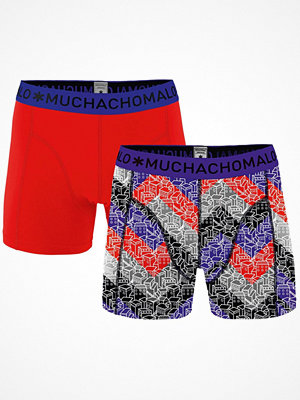 Muchachomalo 2-pack Gettin Lost Boxer Red/Lilac