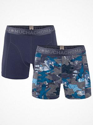 Muchachomalo 2-pack Hustler Boxer Blue Pattern