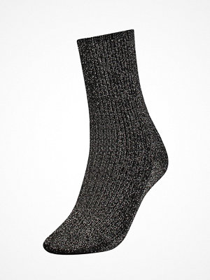 Tommy Hilfiger Women Glitter Sock Black