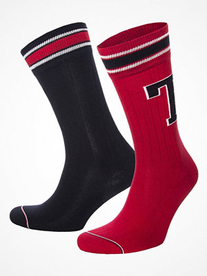 Tommy Hilfiger 2-pack Men Patch Socks Red