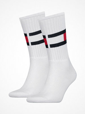 Tommy Hilfiger Flag Sock White