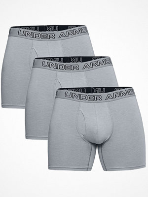 Under Armour 3-pack Charged Cotton Stretch Boxerjock Grey