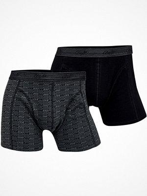 Claudio 2-pack Mens Trunk Black pattern-2
