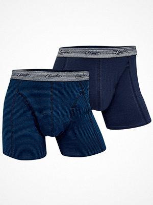 Claudio 2-pack Mens Trunk Blue Striped