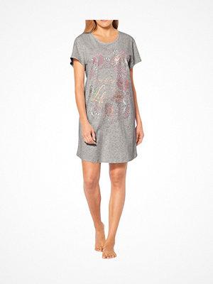 Triumph Lounge Me Cotton Nightdresses NDK 01 Grey