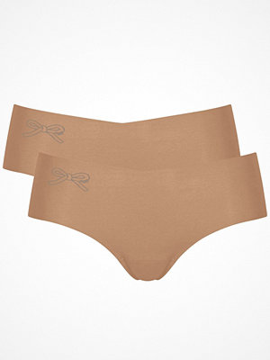 Sloggi 2-pack Touch It Cotton H Hipster Beige