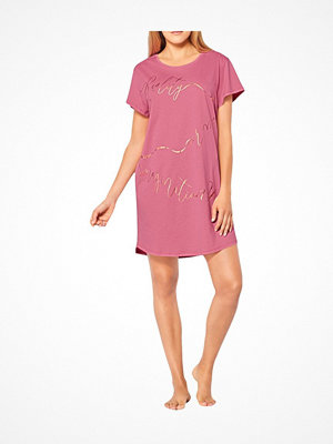 Triumph Lounge Me Cotton Nightdresses NDK 01 Pink