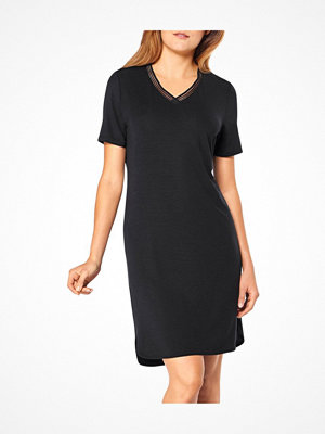 Triumph Lounge Me Climate Control Nightdresses SS1 Black