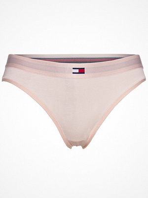 Trosor - Tommy Hilfiger Flag Core Cotton Bikini Lightpink