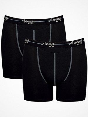 Sloggi 2-pack Men Start Horizontal Opening Short Black