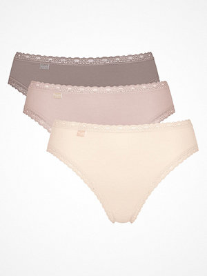 Sloggi 3-pack Weekend Tai Brown/pink