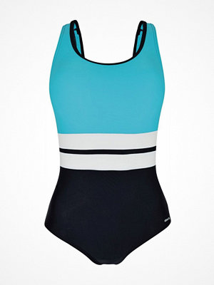 Abecita Piquant Swimsuit Black/Blue