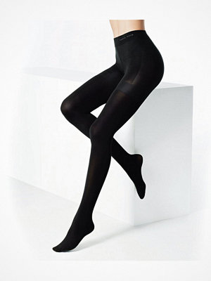 Strumpbyxor - Calvin Klein Full Coverage Tights 80 Black