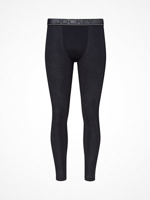 Jockey Wool Long Pants  Black
