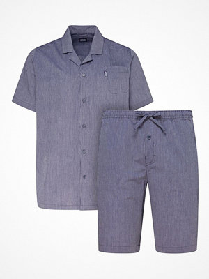 Jockey Short Pyjama Woven 3XL-6XL Navy-2