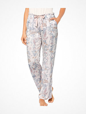 Triumph Lounge Me Natural Mix and Match Trousers  White Pattern-2