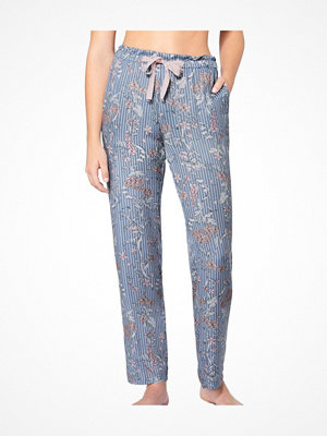 Triumph Lounge Me Natural Mix and Match Trousers  Blue Pattern
