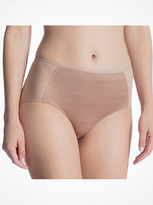 Calida Feminine Air Brief High Waist Light brown