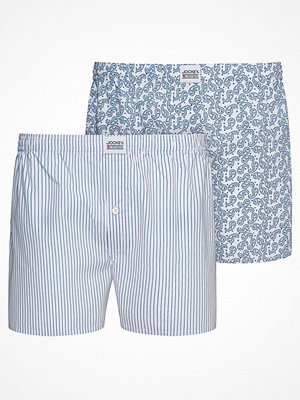 Jockey 2-pack Woven Boxer 315500 3XL-6XL Blue/White
