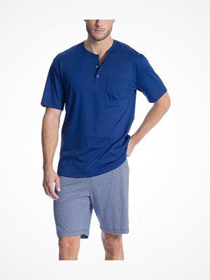 Calida Relax Choice Short Pyjama Blue