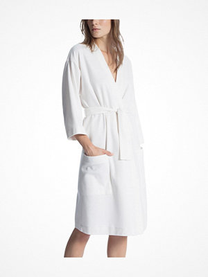 Morgonrockar - Calida Cosy Shower Bathrobe White