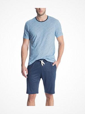 Pyjamas & myskläder - Calida Casual Easy 1 Short Pyjama Blue