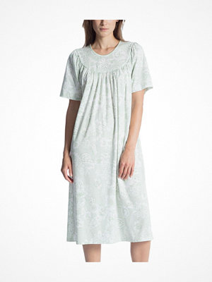 Calida Soft Cotton Nightshirt 34000 Green Pattern