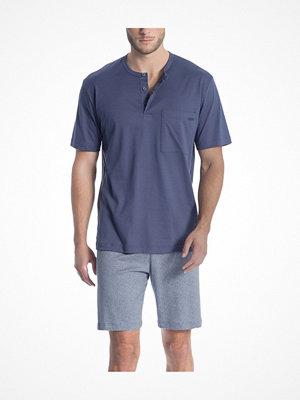 Calida Relax Streamline 1 Short Pyjama 41267 Blue
