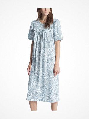 Calida Soft Cotton Nightshirt 34000 Blue Pattern