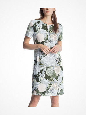 Calida Cosy Cotton Fair Sleepshirt Green Pattern