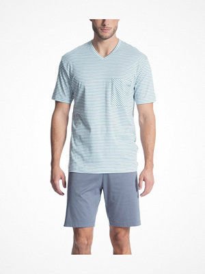 Pyjamas & myskläder - Calida Relax Streamline 1 Short Pyjama 41067 Bluegreen