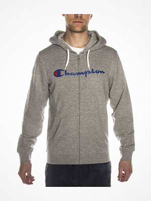 Pyjamas & myskläder - Champion Hooded Full Zip Sweatshirt Grey