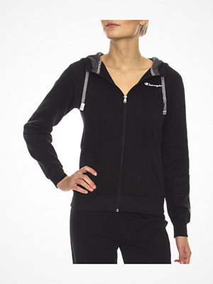 Pyjamas & myskläder - Champion Hooded Full Zip Sweatshirt W Black