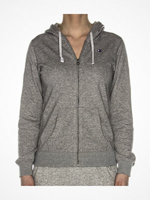 Champion Institutionals Hooded Full Zip Sweatshirt Grey