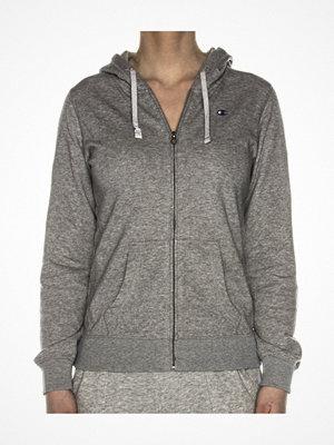 Pyjamas & myskläder - Champion Institutionals Hooded Full Zip Sweatshirt Grey