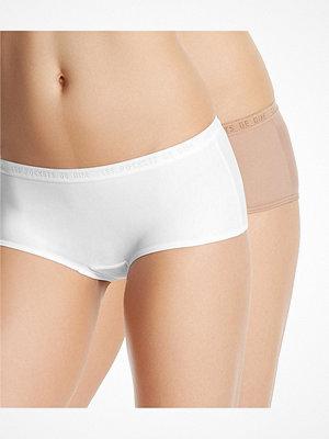 Trosor - DIM 2-pack Les Pockets Micro Boxer  152 White/Beig