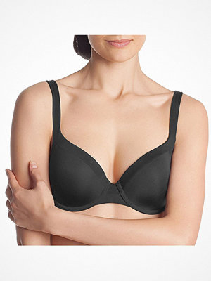 DIM Generous Invisible Padded Bra Black