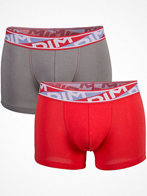 DIM 2-pack Mens Underwear Urban Boxer P Red/Grey