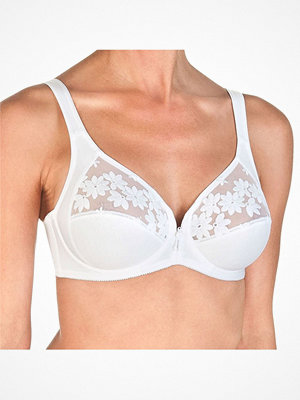Felina Swiss Broderie Bra With Wire White