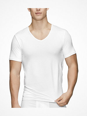 Pyjamas & myskläder - JBS of Denmark Organic Cotton V-neck T-shirt White