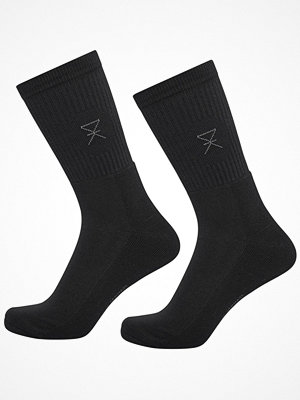 JBS of Denmark 2-pack Bamboo Blend Tennis Socks Black