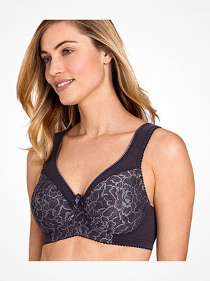 Miss Mary of Sweden Miss Mary Queen Underwired Bra Darkgrey