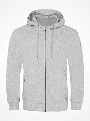 Pyjamas & myskläder - Resteröds Orginal Zip Hoodie Grey